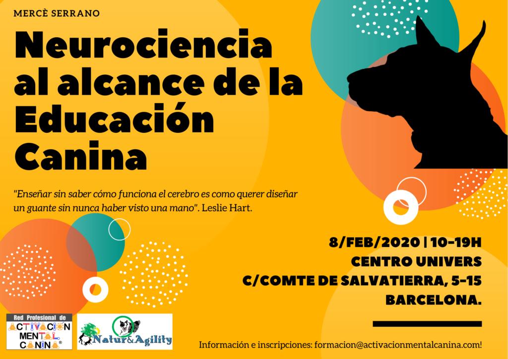 """Seminario """"Neurociencia al alcance de la Educación Canina"""", con Mercè Serrano @ Centro Univers"""