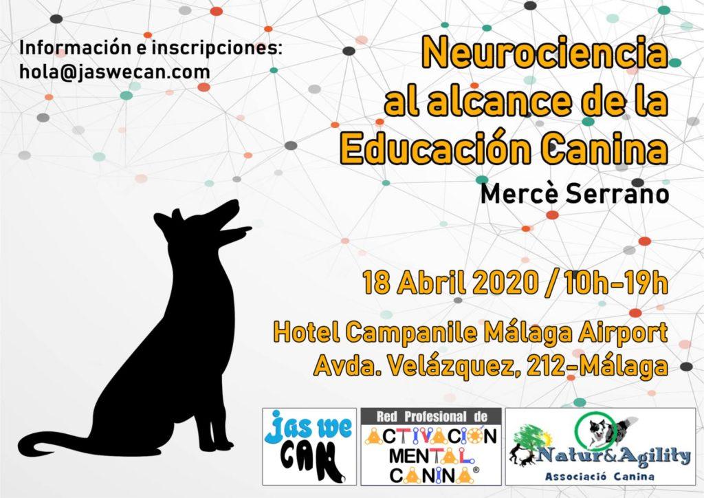 """Seminario """"Neurociencia al alcance de la Educación Canina"""", con Mercè Serrano, en Málaga @ Hotel Campanile Málaga Airport"""
